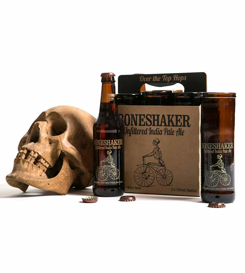 Boneshaker Beer Glass