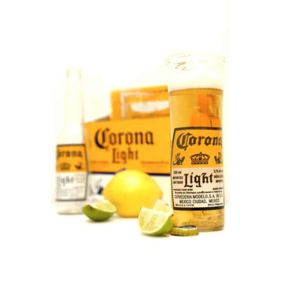 Corona Light Beer Glass