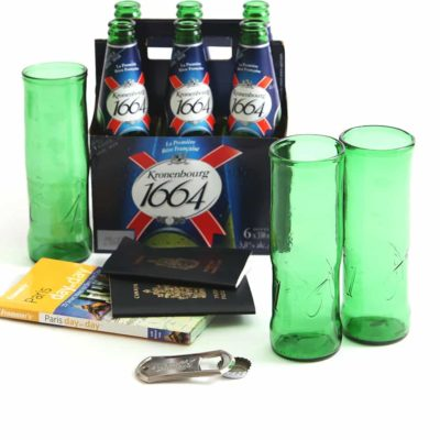 Kronenbourg Beer Glass