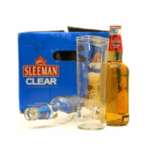 Sleemans Beer Glass