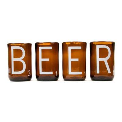 Beer Scrabble Cups (Set of 4)
