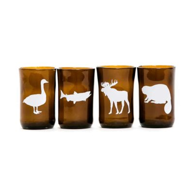 Canadian Animals (Set of 4)