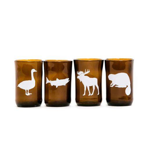 Canadian Animals (Set of 4)