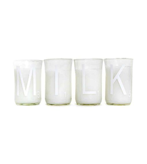 Milk Cups (Set of 4)