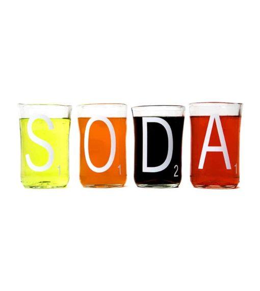 Soda Cups (Set of 4)