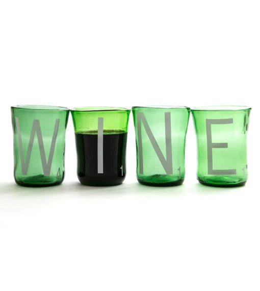 Scrabble Wine Tumblers (Set of 4)