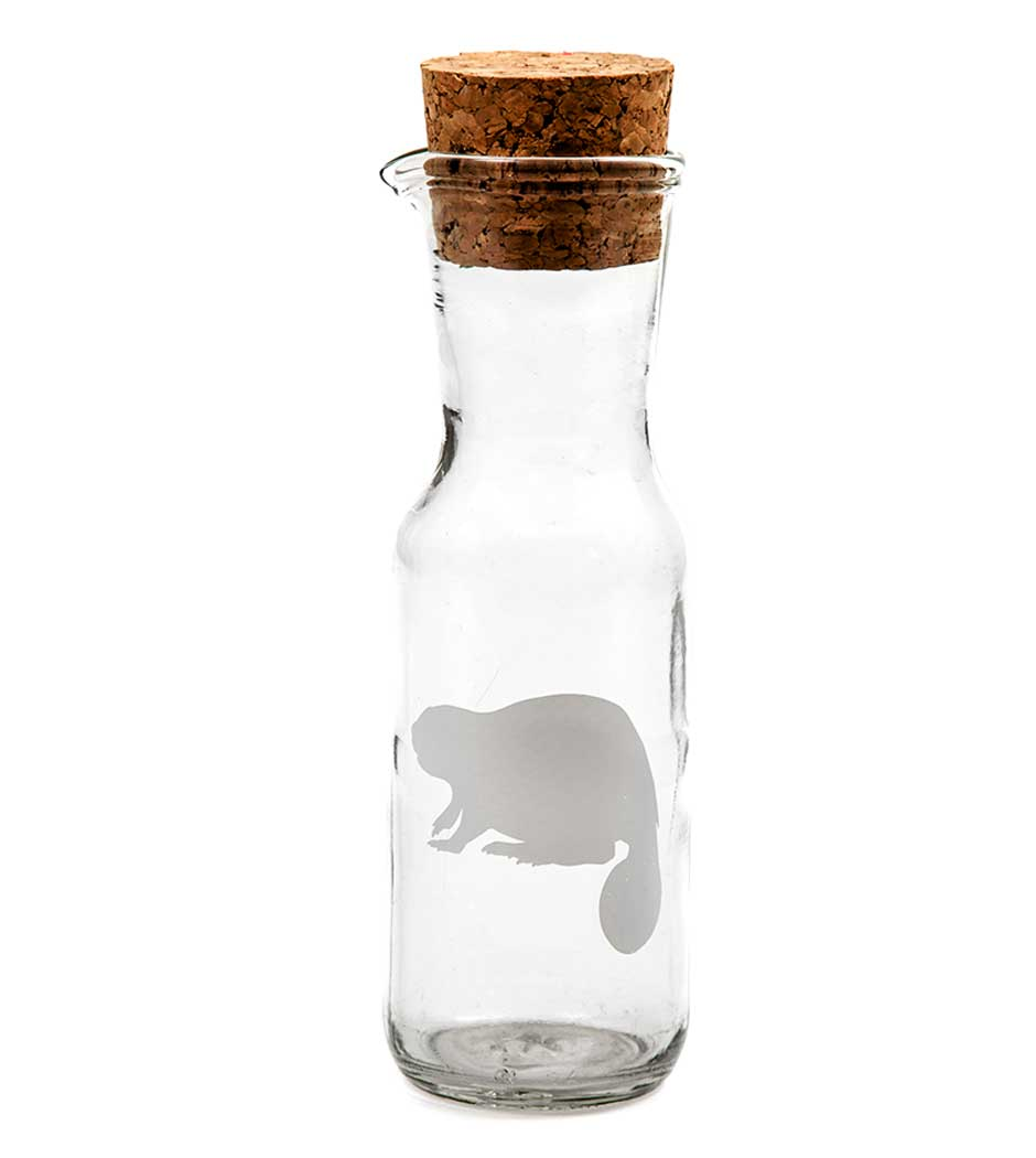 Maple Syrup Carafes - Clear