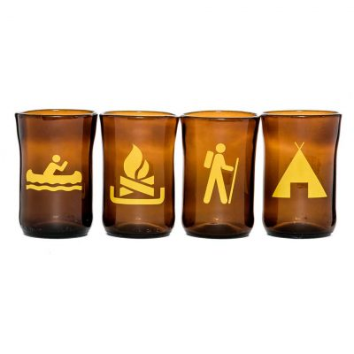 Great Outdoors Tumblers Set of 4