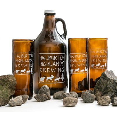 Haliburton Highlands Brewing Beer Glass