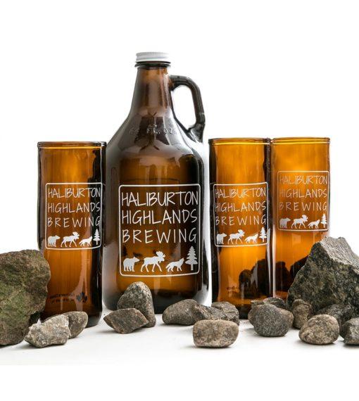 Haliburton Highlands Brewing Beer Glass