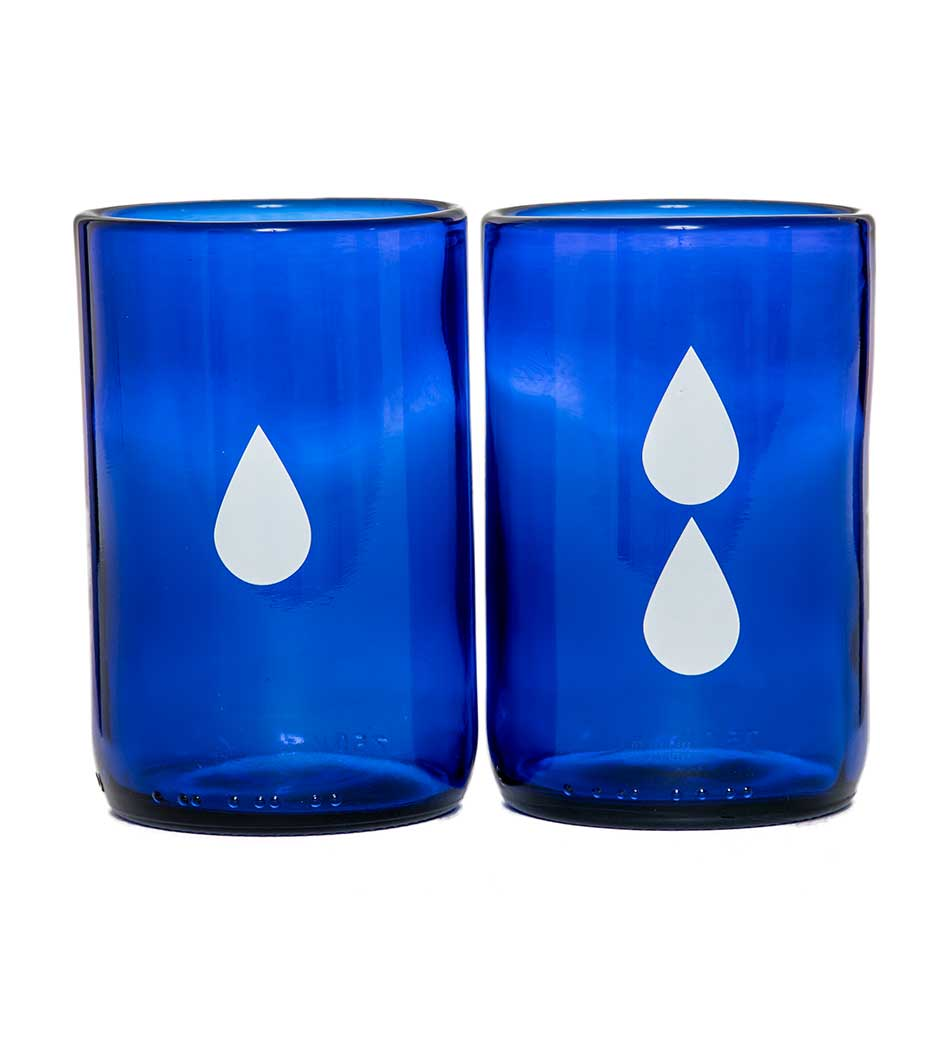 Rehydrate Water Glasses (Set of 2)