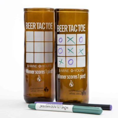 Beer Tac Toe Beer Glass