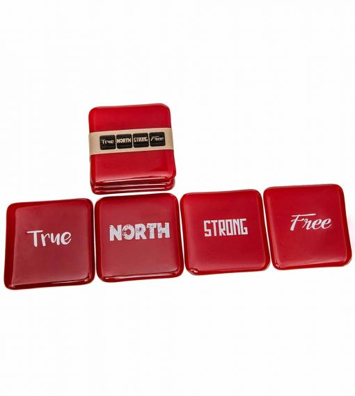 True North Coasters (Set of 4)