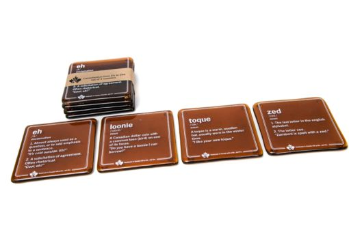 Canadianism Coasters (set of 4)