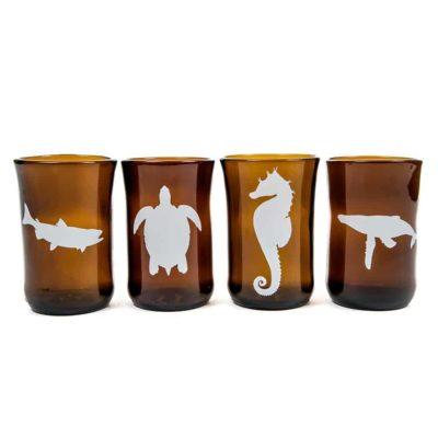 Marine Animal Set (4 glasses)