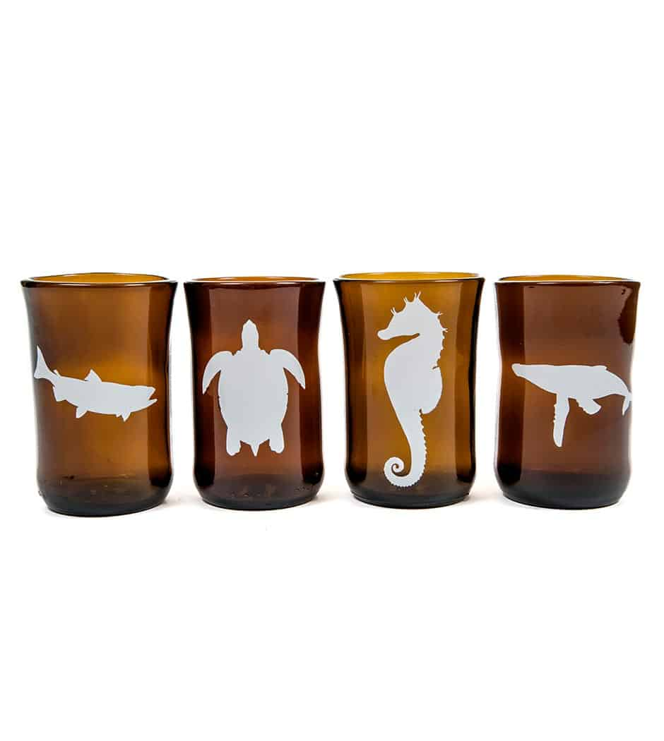 Marine Animal Set (4 glasses)