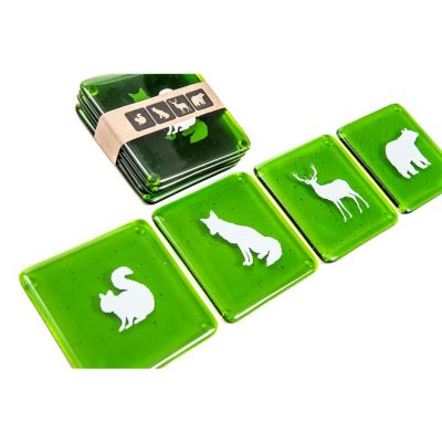 Forest-Animal-Coasters_Green2